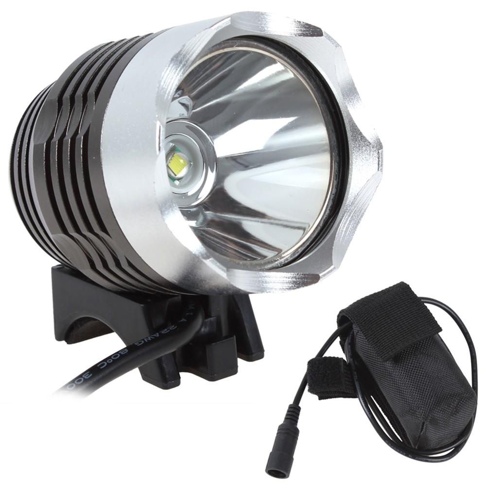 Lanterna para bike resistente à água-bateria recarregável.