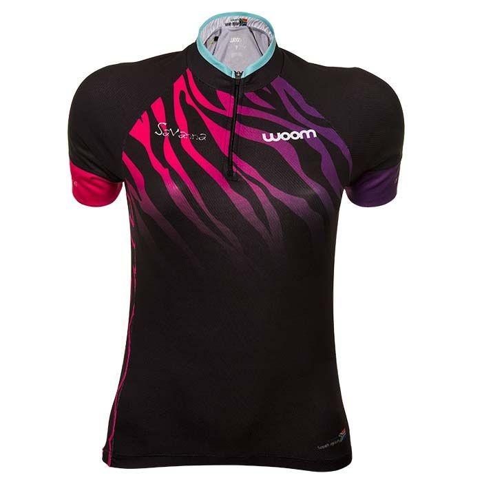 Camisa ciclismo feminina Woom savanna